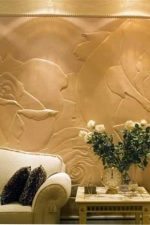 Фактурная декоративная – декоративная роллерная штукатурка, виды структурного покрытия для внутренней отделки стен