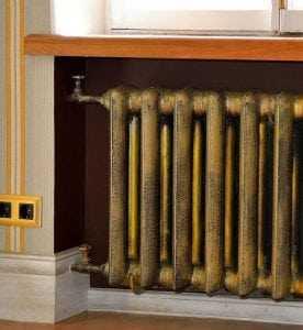Площадь чугунного радиатора отопления для покраски